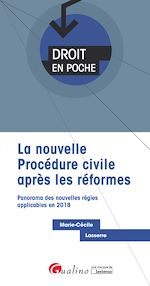 Download this eBook Droit en poche - La nouvelle procédure civile après les réformes