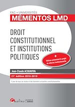 Download this eBook Droit constitutionnel et Institutions politiques