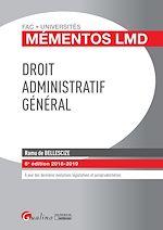 Download this eBook Droit administratifgénéral
