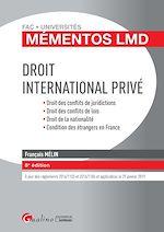 Download this eBook Mémentos LMD - Droit international privé - 8e édition