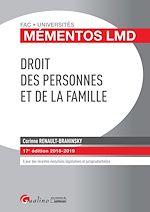 Download this eBook Droit des personnes et de la famille