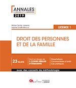Download this eBook Droit des personnes et de la famille - L1