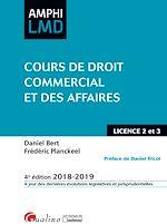 Download this eBook Cours de Droit commercial et des affaires
