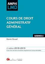 Download this eBook Cours de Droit administratif général