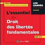 Download this eBook L'essentiel du droit des libertés fondamentales
