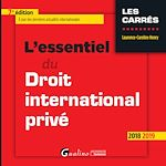 Download this eBook L'essentiel du droit international privé - 7e édition