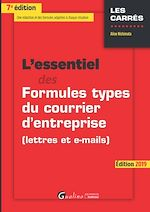Download this eBook L'essentiel des formules types du courrier d'entreprise