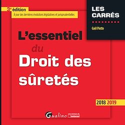 Download the eBook: L'essentiel du droit des sûretés