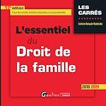 Téléchargez le livre :  L'essentiel du Droit de la famille