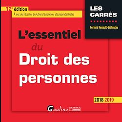 Download the eBook: L'essentiel du Droit des personnes