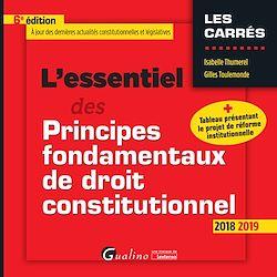 Download the eBook: L'essentiel des Principes fondamentaux de droit constitutionnel