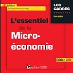 Download this eBook L'essentiel de la micro-économie 2018 - 6e édition