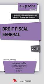 Download this eBook En poche - Droit fiscal général 2018 - 2e édition