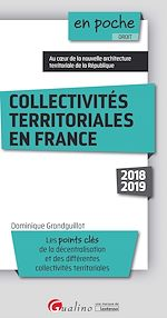Download this eBook Collectivités territoriales en France