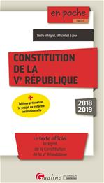 Download this eBook Constitution de la Ve République