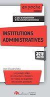 En poche - Institutions administratives - 5e édition