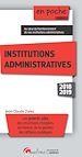 Télécharger le livre : En poche - Institutions administratives - 5e édition