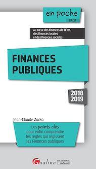 Téléchargez le livre :  En poche - Finances publiques - 5e édition
