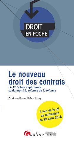 Download the eBook: Le nouveau droit des contrats - 2e édition