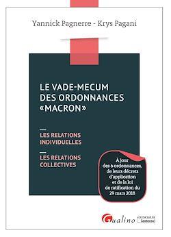 """Download the eBook: Le vade-mecum des ordonnances """"Macron"""""""