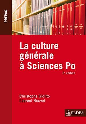 Téléchargez le livre :  La culture générale à Sciences Po