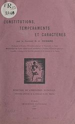 Download this eBook Constitutions, tempéraments et caractères