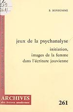 Téléchargez le livre :  Jeux de la psychanalyse