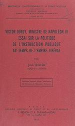 Download this eBook Victor Duruy, ministre de Napoléon III