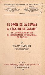 Download this eBook Le droit de la femme à l'égalité de salaire