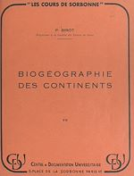 Download this eBook Biogéographie des continents