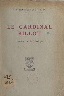Download the eBook: Le cardinal Billot
