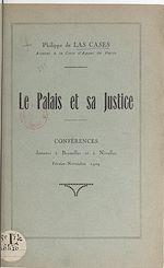 Download this eBook Le palais et sa justice