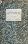 Télécharger le livre :  Francs-maçons inscrits sur les tableaux des loges et Chapitre de Charleville, 1774-1815