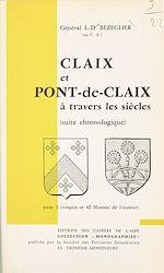 Téléchargez le livre :  Claix et Pont-de-Claix à travers les siècles