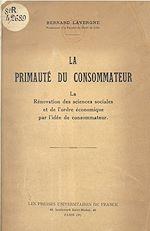 Download this eBook La primauté du consommateur