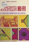 Télécharger le livre :  Enceintes acoustiques Hi-Fi à construire facilement soi-même