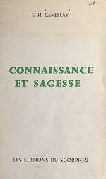 Download this eBook Connaissance et sagesse