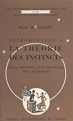 Download this eBook Introduction à la théorie des instincts