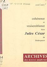 """Download this eBook Cohérence et vraisemblance dans """"Jules César"""", de Shakespeare"""