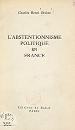 Download this eBook L'abstentionnisme politique en France