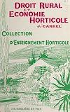 Télécharger le livre :  Droit rural et économie horticole