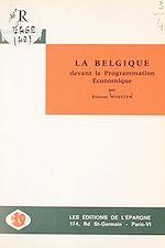 Download this eBook La Belgique devant la programmation économique