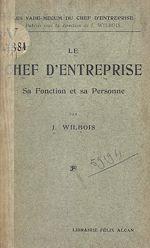 Download this eBook Le chef d'entreprise