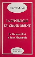 Download this eBook La République du Grand Orient