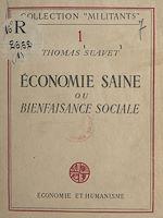 Download this eBook Économie saine ou bienfaisance sociale