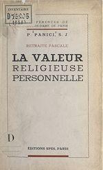Download this eBook La valeur religieuse personnelle