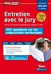 Télécharger le livre :  Entretien avec le jury - 200 questions sur les collectivités territoriales - Concours et examens ...