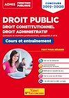 Télécharger le livre : Droit public - Droit constitutionnel - Droit administratif
