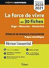 Télécharger le livre :  La force de vivre en 30 fiches - Épreuve de français-philosophie - Prépas scientifiques - Concour...
