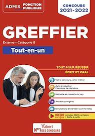 Téléchargez le livre :  Concours Greffier - Catégorie B - Tout-en-un - Annales 2020 offertes
